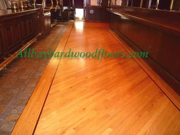 The Bay Area Hardwood Floor Refinishing Install Repair