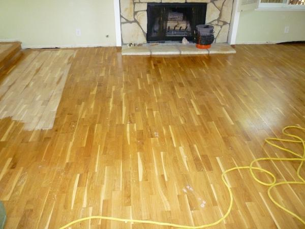how to put polyurethane on floors